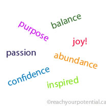 purpose passion abundance