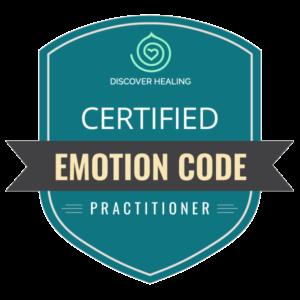 Certified Emotion Code Practitioner badge